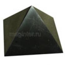 Пирамида из шунгита полированная 9 см