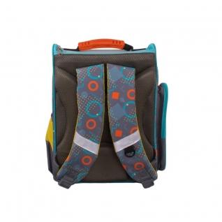 Школьный рюкзак Монстрик Гошик (серый) Gulliver рюкзаки