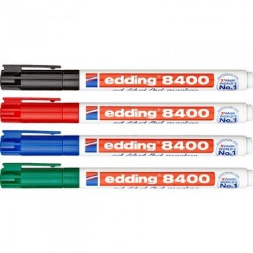 Набор маркеров для CD EDDING E-8400/4S 0,75мм, 4 штуки 37849033 2