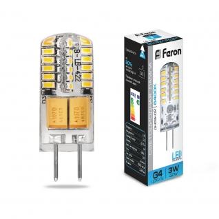 Светодиодная лампа Feron LB-422 (3W) 12V G4 6400K