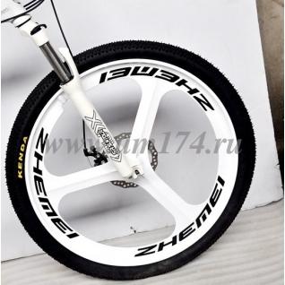 Литые диски для велосипеда 26 дюймов (трёхспицевый)