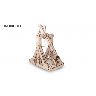 Сборные модели EWA Деревянный конструктор 3D Trebuchet (требушет)
