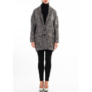женская одежда FluffyAnn Moscow Жакет-пальто FluffyAnn Артикул FA026