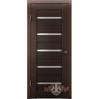 Межкомнатная дверь LINE 1 Л1ПГ4 стекло белое