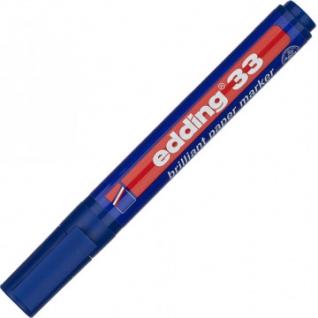 Маркер пигментный EDDING E-33/003 синий 1,5-3 мм скош. наконечник