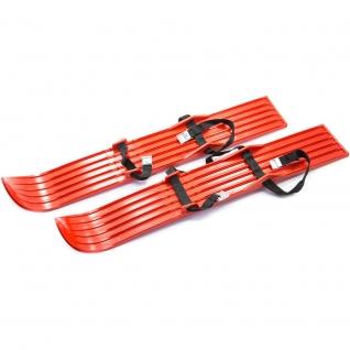 Детские мини-лыжи, оранжевые, 64 см Спортивная Коллекция