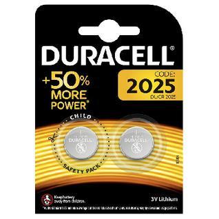 Батарейки DURACELL CR2025 литий бл/2шт