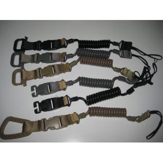 спиральный страховочный шнур(тренчик)