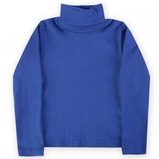 Водолазка детская лапша, цвет синий, рост 140