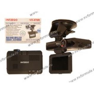 Антирадар (радар-детектор) + видеорегистратор INTEGO с GPS VX-470R