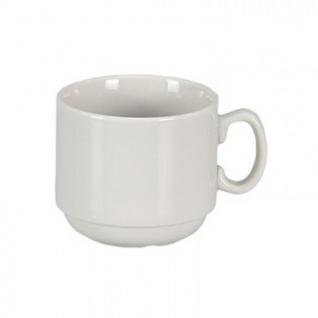 Чашка кофейная Мокко, фарфор белая 100мл (6С0138Ф34)