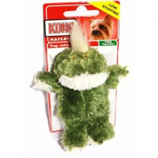 """Kong Kong игрушка для собак """"Лягушка"""" плюш маленькая"""