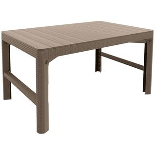 Пластиковый стол Keter Lyon rattan table 17205429
