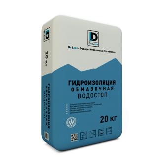 """Гидроизоляция обмазочная """"Водостоп"""" De Luxe 20 кг"""