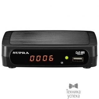 Supra SUPRA SDT-84 внешний TV-тюнер, цифровой, работает без компьютера, пульт ДУ