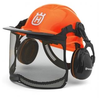 Шлем защитный Husqvarna, флуоресцентный