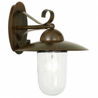 Уличный настенный светильник Eglo Milton 83589
