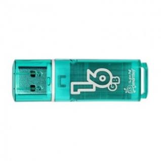 Флеш-память Smartbuy 16GB Glossy series Green