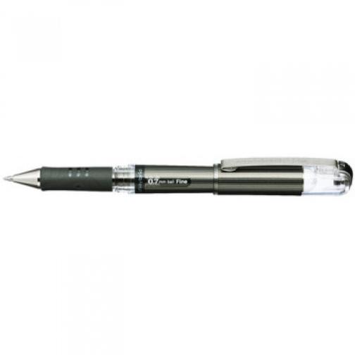 Ручка гелевая Pentel Hybrid gel Grip DX, черный, 0,7мм, К227-А 37873512