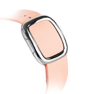 Ремешок кожаный COTEetCI W5 NOBLEMAN (WH5201-PK) для Apple Watch 44мм/ 42мм (современная пряжка) Pink - Розовый