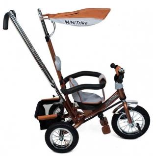 Трехколесный велосипед MINI TRIKE LT-950 3-х кол. коричневый Mini trike