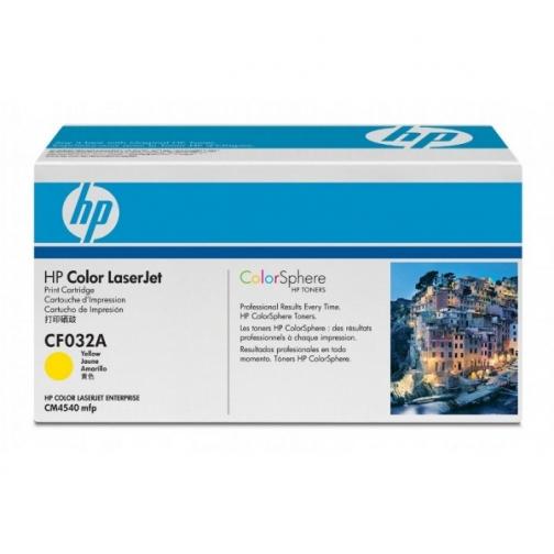 Оригинальный картридж HP CF032A для HP CLJ CM 4540 (желтый, 12500 стр.) 864-01 Hewlett-Packard 852445 1