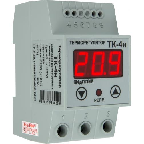 Терморегулятор DigiTOP ТК-4н (крепление на DIN-рейку) 6775760