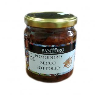 SANTORO Вяленые томаты в масле 314мл