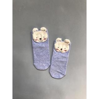 Ф002 носки детские голубой мышонок Фенна (12-18) (16)