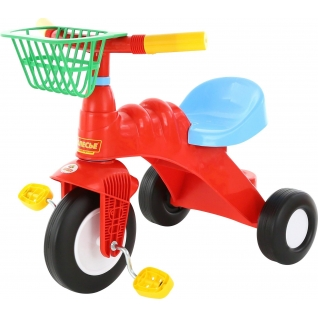 Велосипед 3-х колёсный МАЛЫШ с корзинкой Полесье