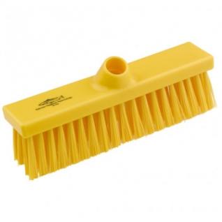 Щетка Метла плоская с жесткой щетиной, 280ммх55мм, B1733 Y ПМ желтая