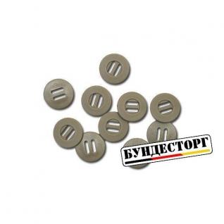 Кнопки Slotted Button Малые 10шт. хаки