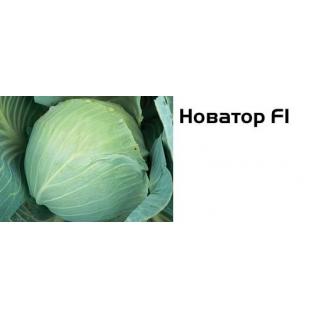 Семена капусты белокочанной Новатор F1 - 2500шт