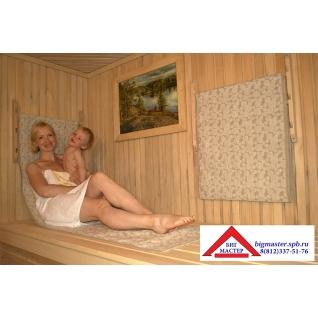 Шезлонг банный Sauna Relax