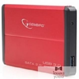 "Gembird Gembird EE2-U3S-2-R Внешний корпус 2.5"" Gembird EE2-U3S-2 , красный, USB 3.0, SATA"