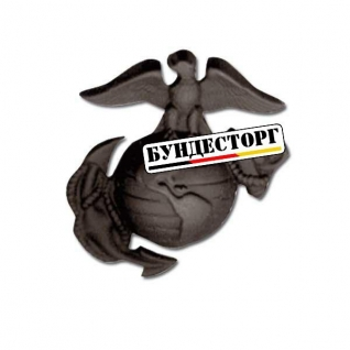Знак США Insignia USMC cap чёрный