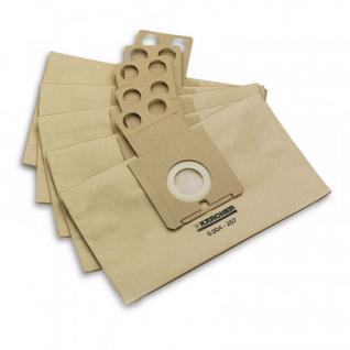 Пылесборник Karcher Бумажные фильтр-мешки 6.904-257.0 (5шт.)