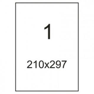Этикетки самоклеящиеся Office Label 210х297мм. белая (100л/уп.)