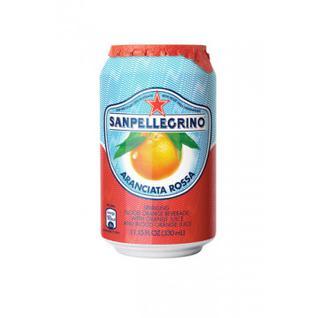 Напиток газ. сокосод. Sanpellegrino кр. апельсин, ж/б 0,33л, 6ш