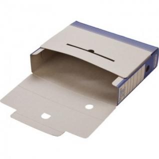 Короб АрхивныйATTACHE,75 мм,переплетный картон,син
