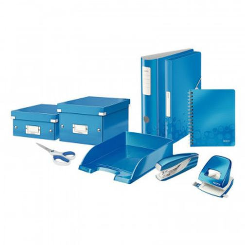 Степлер LEITZ NEXXT 55281036 (N10) до 10 л. синий металлик 37848244