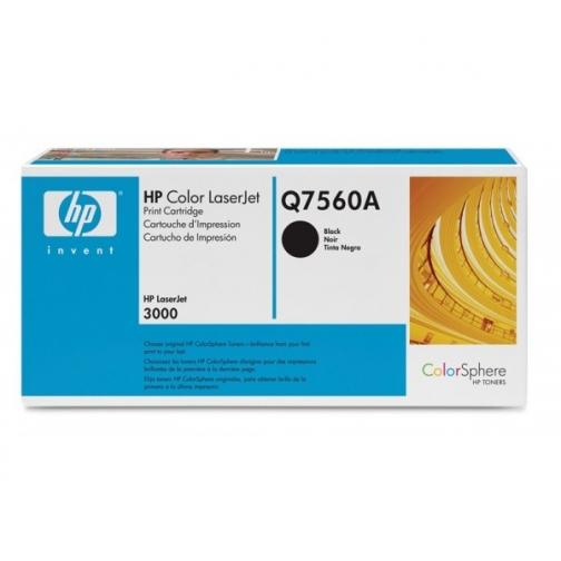 Оригинальный картридж Q7560A для HP CLJ 2700, 3000 (черный, 6500 стр.) 902-01 Hewlett-Packard 852409 1