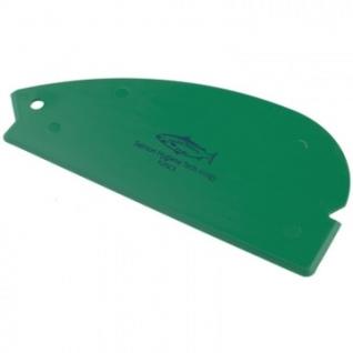 Скребок пластмассовый ручной эластичный 90x200мм FLPSC 3 G зеленый
