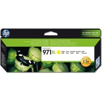 Оригинальный картридж CN628AE №971XL для принтеров HP Officejet X451dw/X476dw/X551dw, желтый, струйный, 6600 стр 8611-01 Hewlett-Packard