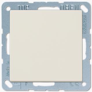 Выключатель Jung LS серия (501U-LS990) одноклавишный 10А слоновая кость пластик