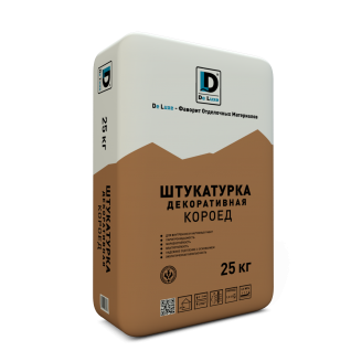 "Штукатурка декоративная ""Короед"" De Luxe (зерно 3 мм) 25 кг"