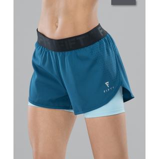 Женские спортивные шорты Fifty Intense Pro Fa-ws-0103, синий/голубой размер L