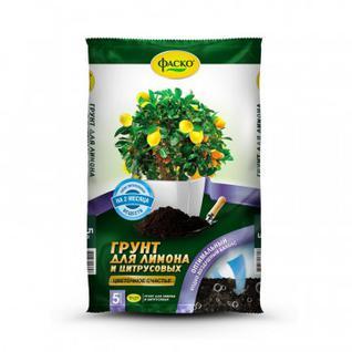 Грунт для лимона и цитрусовых Фаско Цветочное счастье 5л Тп0102ЦВС11