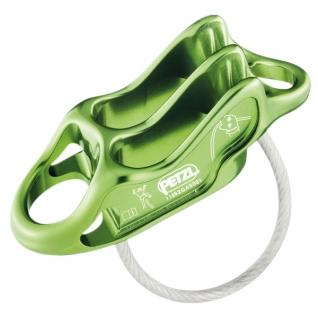 Petzl Устройство страховочное Petzl Reverso 4, цвет зеленый