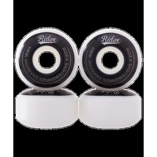 Комплект колес для скейтборда Ridex Sb, 55*32, белый/черный, 4 шт.